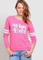 T-Box Sweatshirt Pembe